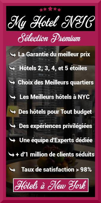 site d'hôtel à New York pas cher