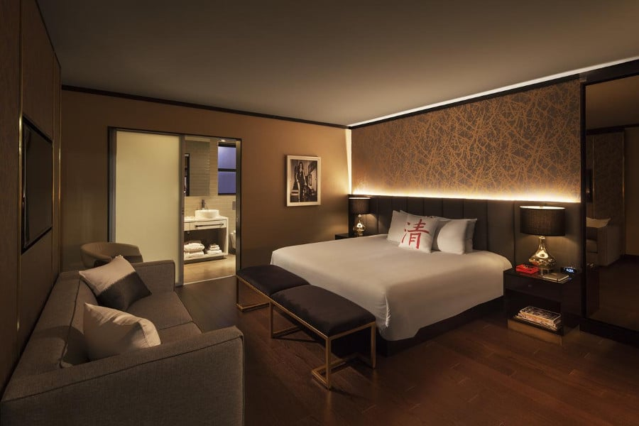 Cachet Boutique Hotel Nyc H 244 Tel 4 233 Toiles New York